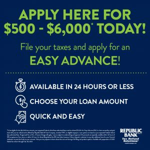 Easy Advance Tax Loan | Billings, MT | EZ Money Check Cashing